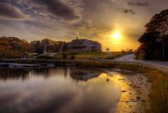 Sippewissett Harbor sunset