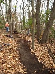 Gambrill Trail Work