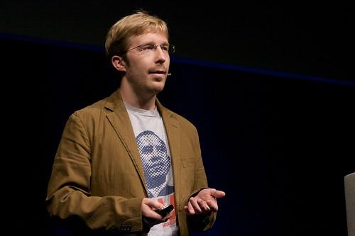 Chris Messina speaking by Drew McLellan