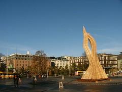 contemporary sculpture (rafael rybczynski) Tags: sculpture art students norway architecture norge contemporary bergen scandinavia kartpostal terrascania rafaelrybczynski