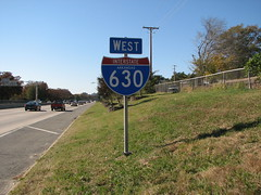 630 Series C (US 71) Tags: littlerock highways arkansas roadsigns highwaysigns i630 interstate630