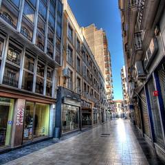 Deserted city (Vicent de los Angeles) Tags: street valencia canon eos major calle spain mayor main carrer gandia ganda 40d mywinners abigfave