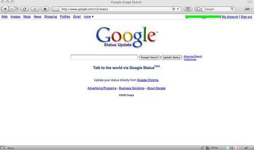 Google Status Update