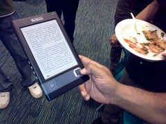 Bookeen's Cybook Gen 3 eBook reader