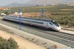 114 001 en humilladero (serie103) Tags: railroad tren ave avant 114 pruebas humilladero altavelociadad