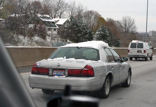 Snow on I-76