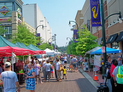 Silver Spring, MD, was the recipient of a national smart growth award from EPA (courtesy of USEPA)