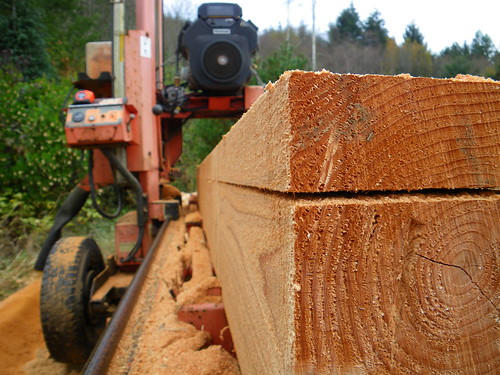 milling cedar