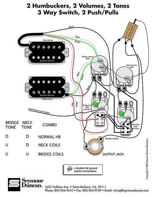 Showthread also 132971 Cant Find Simple Wiring Diagram furthermore Schematics For Pickups And Guitars together with Shielding Wiring Harness also Article Correspondances Micros Selon Les Marques 109855408. on prs wiring diagram