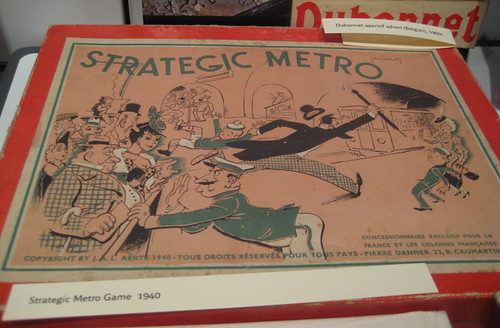 Strategic Métro Game 1940