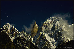 NightSky (Heart of Aries ~) Tags: pakistan mountain photography peak hunza brilliant ladyfinger ultar vosplusbellesphotos
