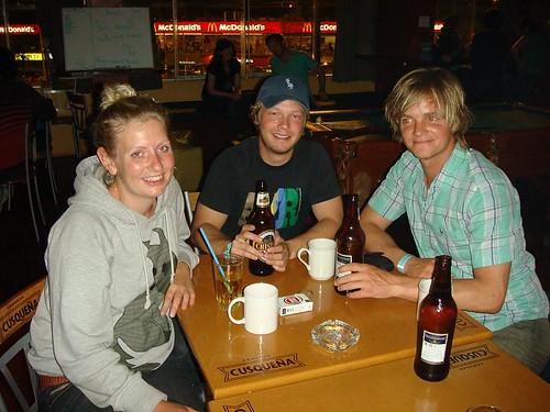 Lisbeth, Kasper, and I. Miraflores - Lima, Peru...