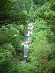 尾白川渓谷 神蛇滝