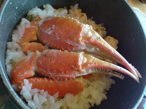你拍攝的 螃蟹道樂-螃蟹炊飯。