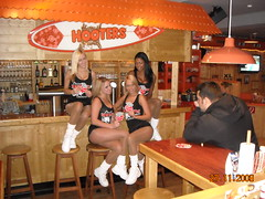 """""""Herz fuer Kinder"""" (Hearts for Kids) Newspaper shoot (infamous_slim) Tags: germany hooters dusseldorf"""