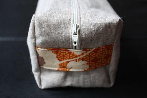 Boxy Pouch : Handle