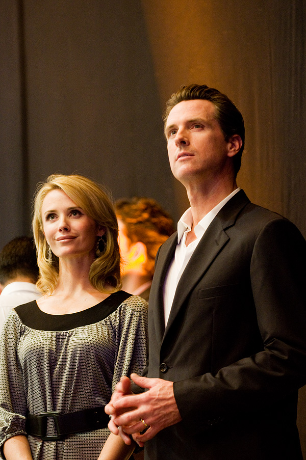 Gavin Newsom & Jennifer Siebel