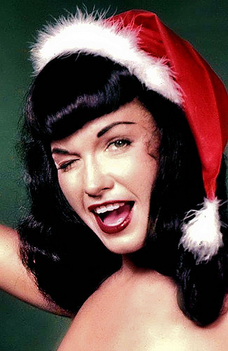 R.I. P ~ Bettie Page ~ Queen of the Pin Ups Bettie Page, the brunet pinup