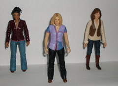 Martha, Rose and Sarah Jane