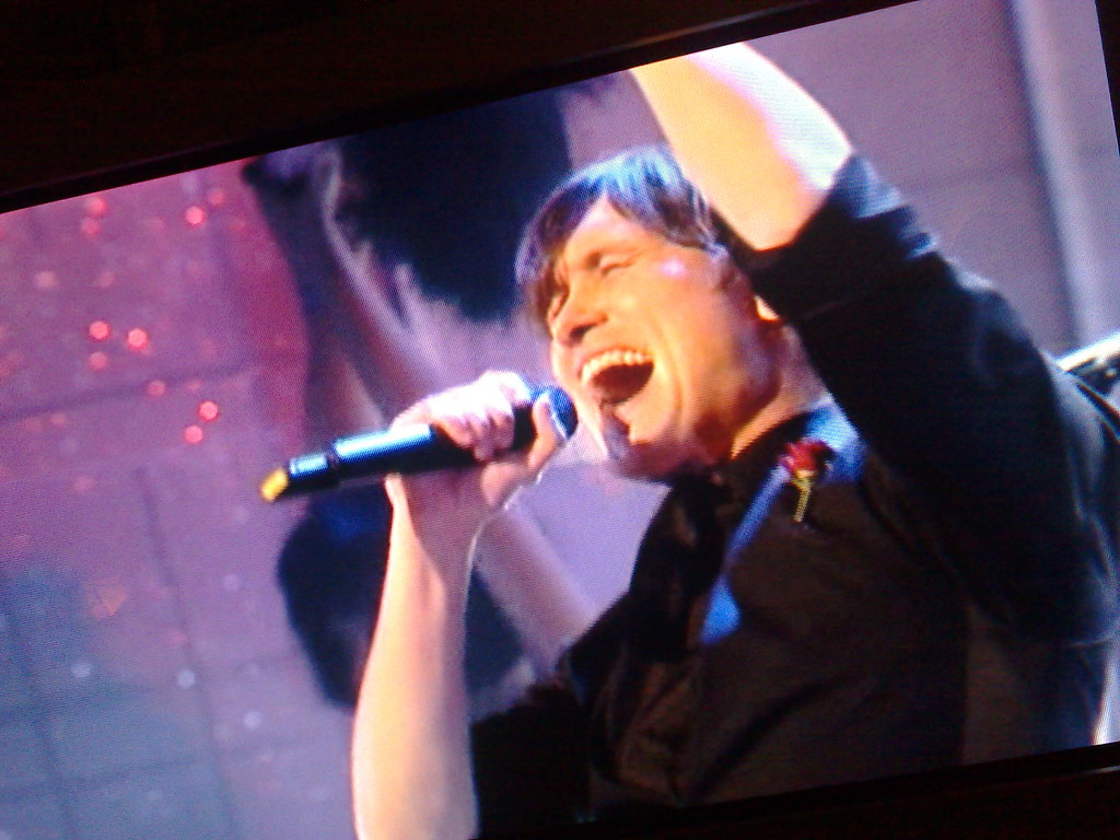 Mark Owen from Take That