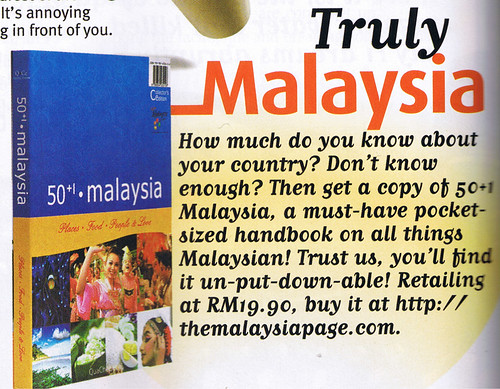 50+1 malaysia book review, cleo
