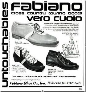 Fabiano CC Touring Boots