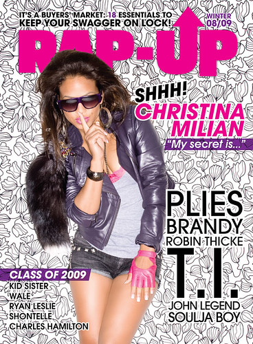 christina milian rap-up magzine cover