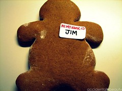mr. gingerbread says hi