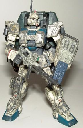 Gundam loose Scarred RX-79(G) EZ-8b by you.