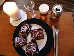 Sild og makrel med snaps og øl