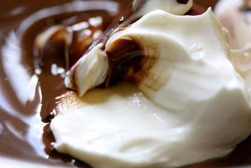 Mocha Hazelnut Marble Cake