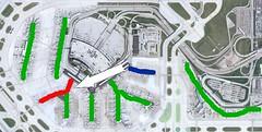 Delta/Northwest Consolidate ORD Terminals