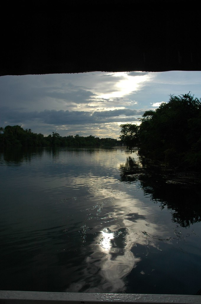 Light on the river, Kanchanaburi