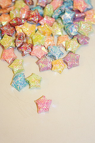 Origami litlle lucky star