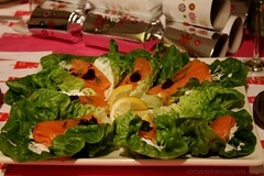 3139878400 2a8e8e4c50 m Smoked Salmon on a Bed of Lettuce
