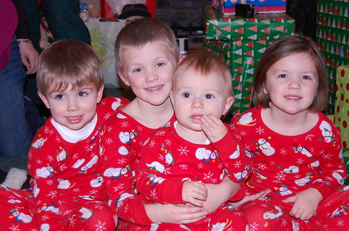 The little ones on Christmas Eve