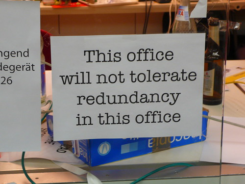 Redundancy - image by mlcastle