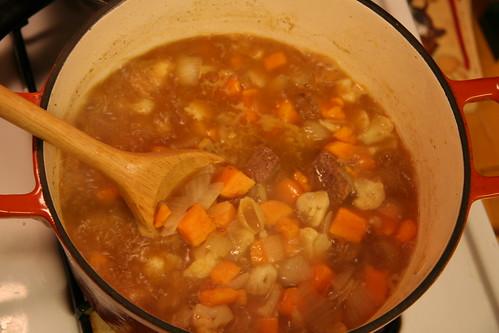 stew, step two... stir it