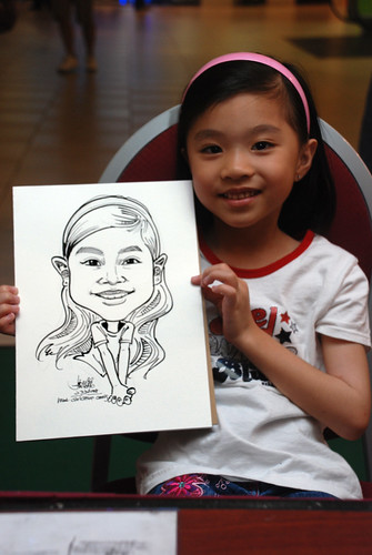 Caricature live sketching for Marina Square Day 2 - 15
