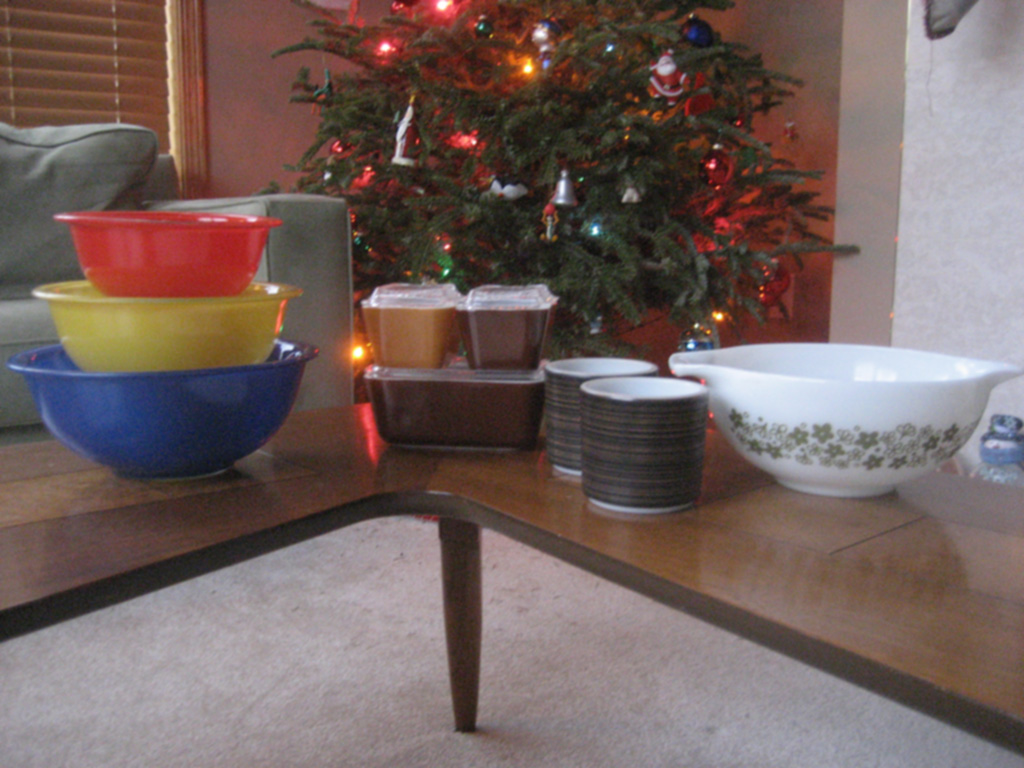 New Year's Eve Pyrex Finds