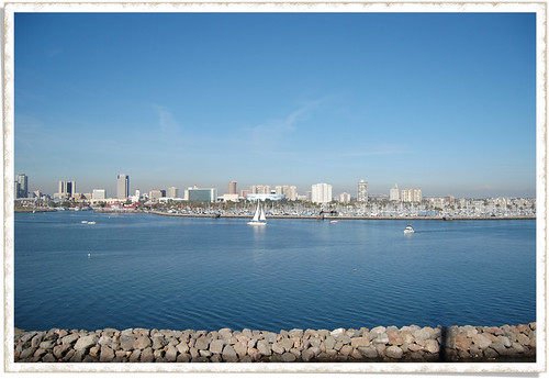 Queen Mary - Long Beach View