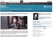 Rahaf Harfoush on government transparency_1230861175466