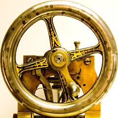 A Square Circle wheel1 (Art Ascii) Tags: signs london circle squaredcircle squared sciencemuseum
