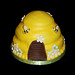 3D bee hive cupcake tower topper cake