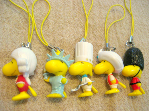 Woodrtock original cell phone charms from CC Lemon