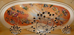 Painted Ceiling in Bellagio - by Track Chic