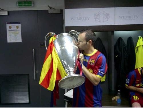 Iniesta y la Copa