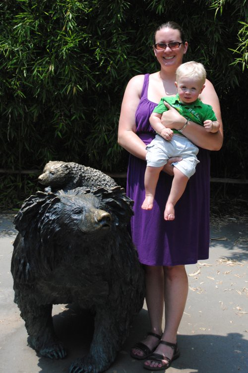 Sammy, me and the sloth bear 500