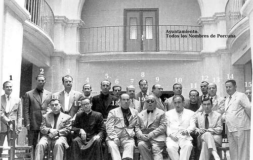 Ayuntamiento. Años 40 del siglo XX