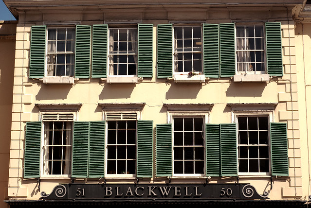 Blackwell's windows